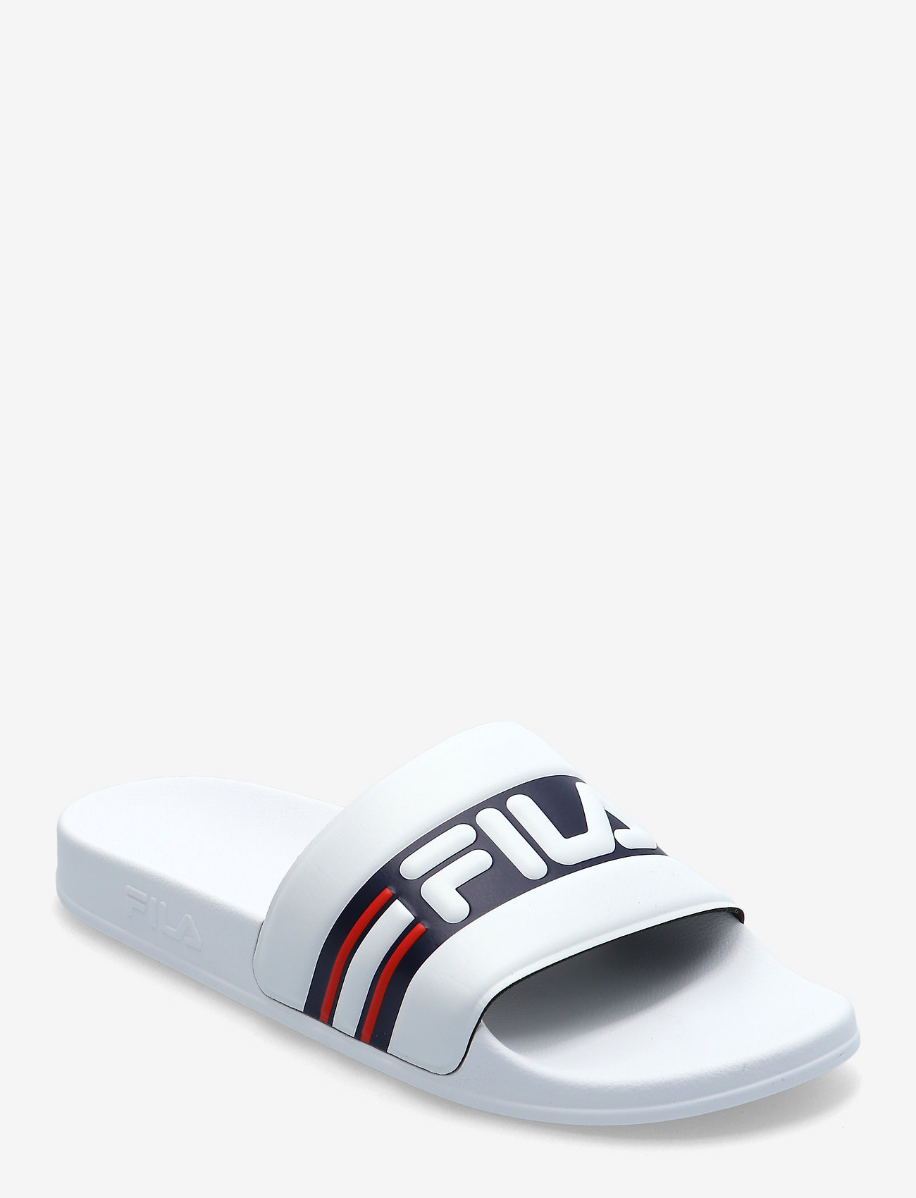 FILA - Oceano Slipper - pool sliders - white / fila navy - 0