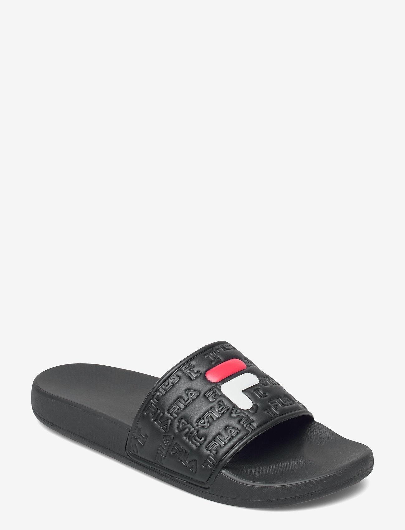 FILA - Baywalk slipper - rantasandaalit - black - 1