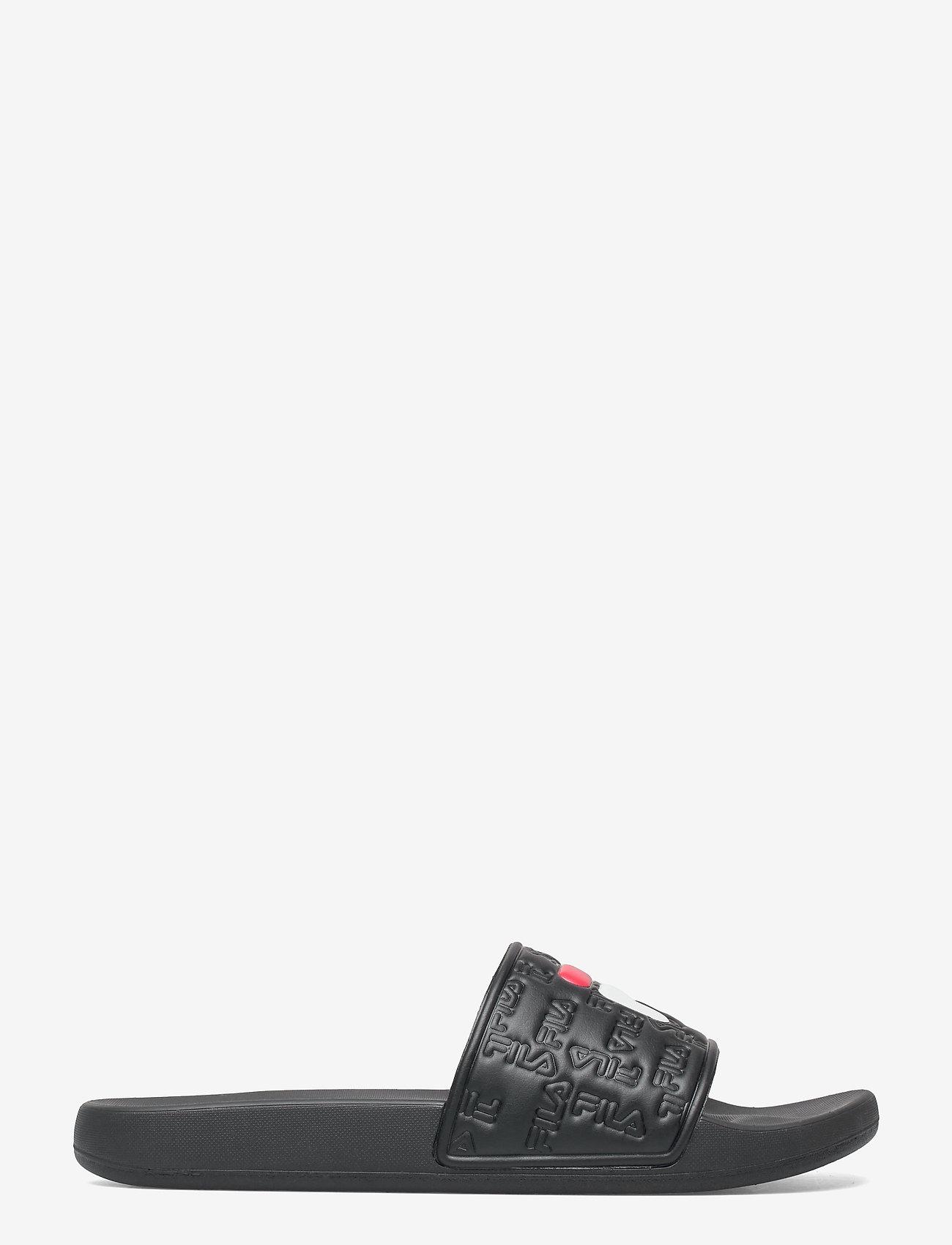 FILA - Baywalk slipper - rantasandaalit - black - 0