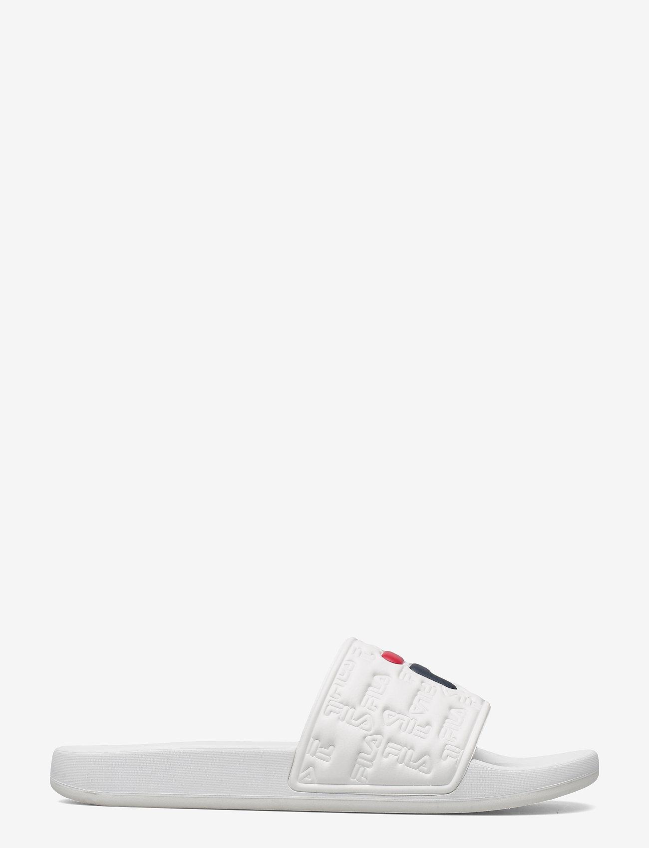 FILA - Baywalk slipper - urheilukengät - white - 1