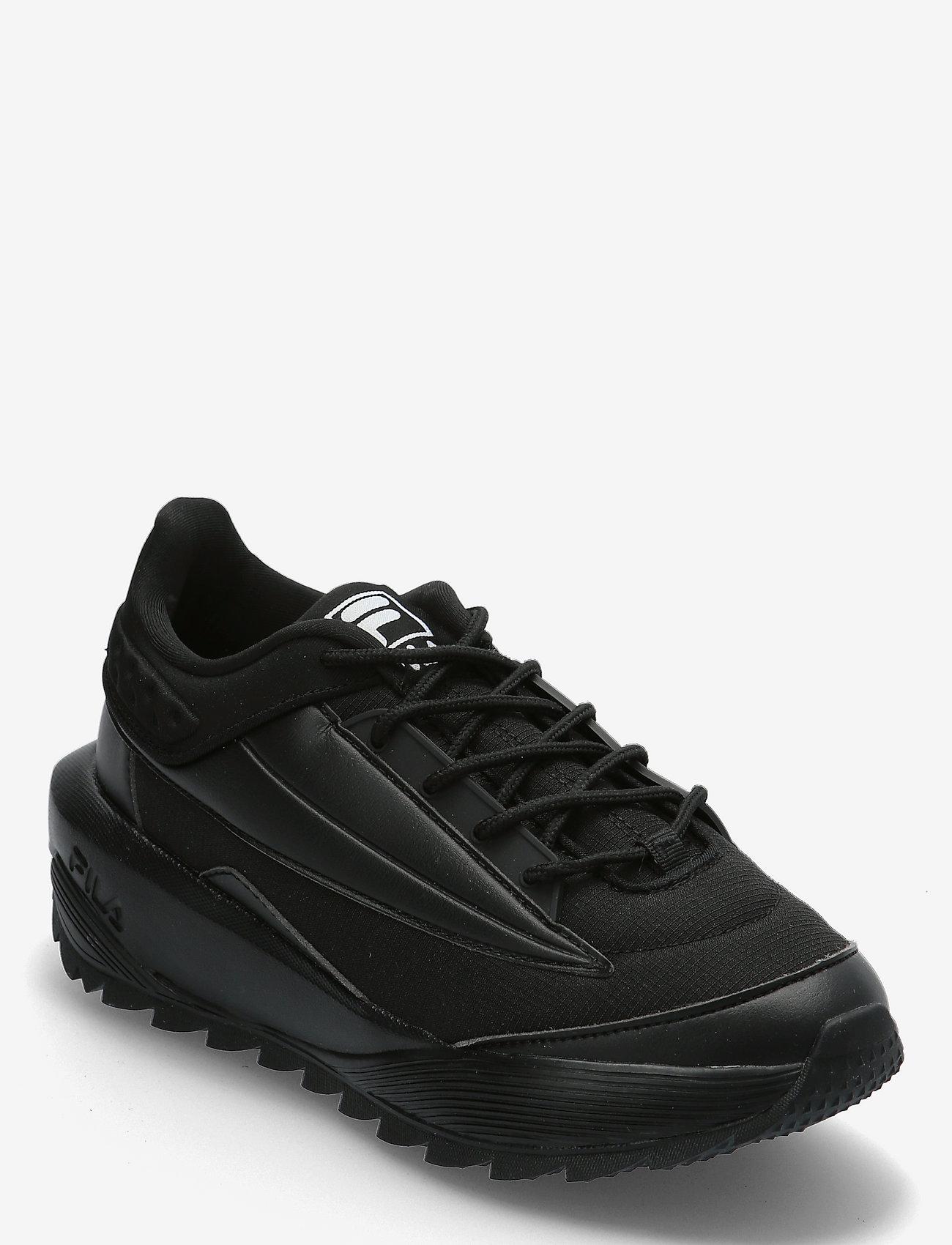 FILA - Throcket wmn - baskets épaisses - black / black - 0