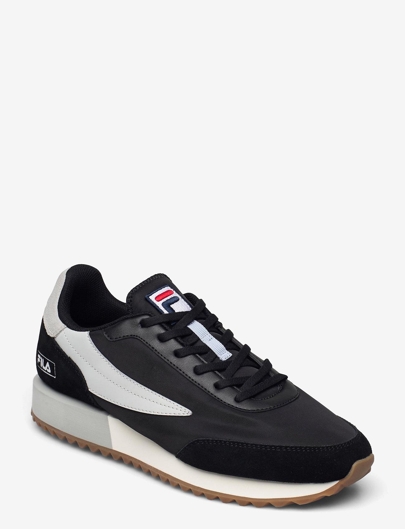 FILA - Retronique - baskets basses - black / gray violet - 0