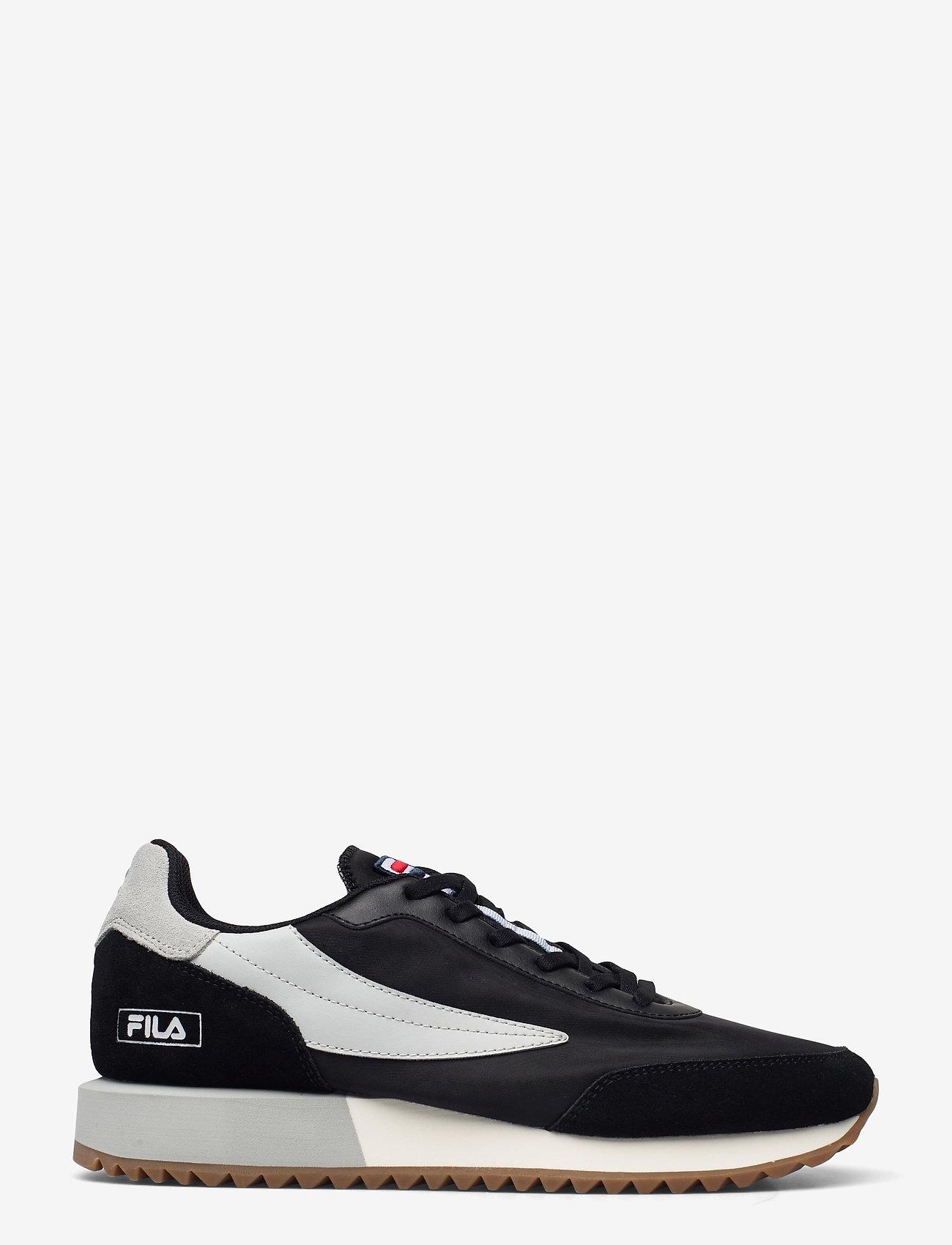 FILA - Retronique - baskets basses - black / gray violet - 1