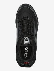FILA - Throcket wmn - baskets épaisses - black / black - 3