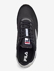 FILA - Retronique - baskets basses - black / gray violet - 3