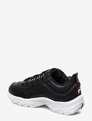 FILA - Strada low wmn - baskets épaisses - black - 2