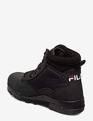 FILA - Grunge II mid wmn - flate ankelstøvletter - black - 2