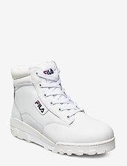 FILA - Grunge II L mid wmn - platte enkellaarsjes - white - 0