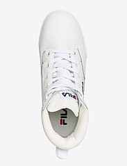 FILA - Grunge II L mid wmn - platte enkellaarsjes - white - 3