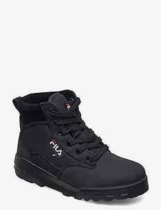 Grunge II mid wmn - baskets montantes - black