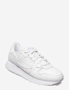 Retroque - matalavartiset tennarit - white / white