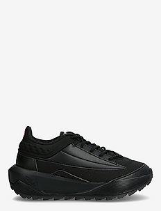 Throcket wmn - chunky sneakers - black / black