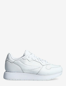 Retroque wmn - matalavartiset tennarit - white / white