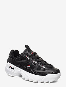 D-Formation wmn - chunky sneakers - black / white / fila red
