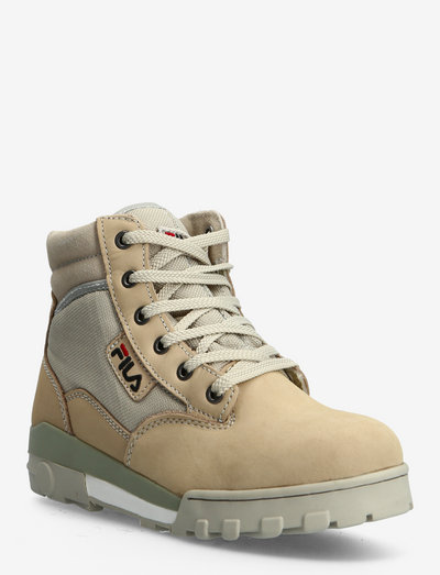 Grunge II mid wmn - baskets montantes - feather gray