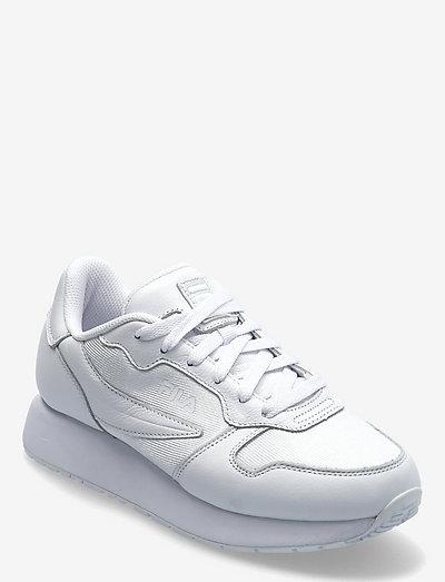 Retroque wmn - baskets basses - white / white