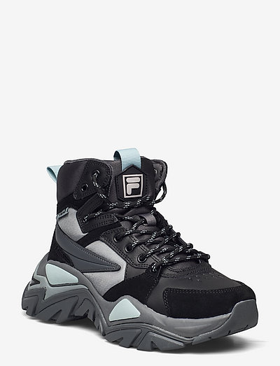 Electrove Desert boot wmn - baskets montantes - dark shadow / black