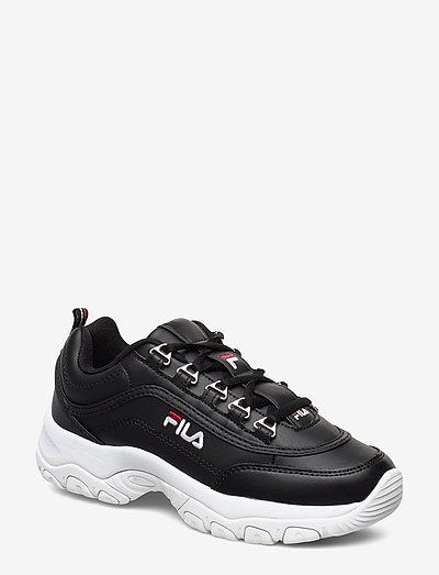 Strada low wmn - baskets épaisses - black