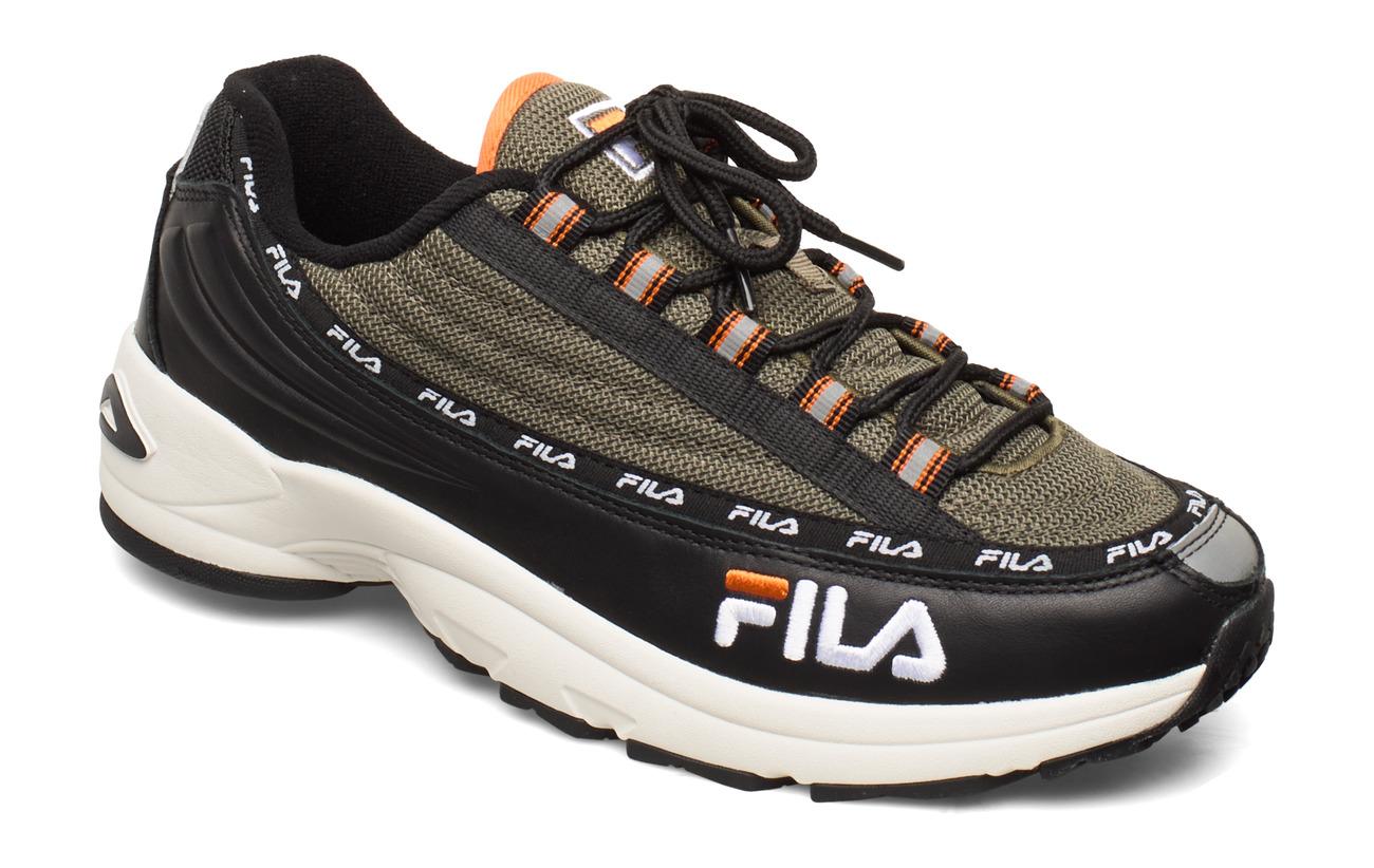 FILA DSTR97 - BLACK / BURNT OLIVE