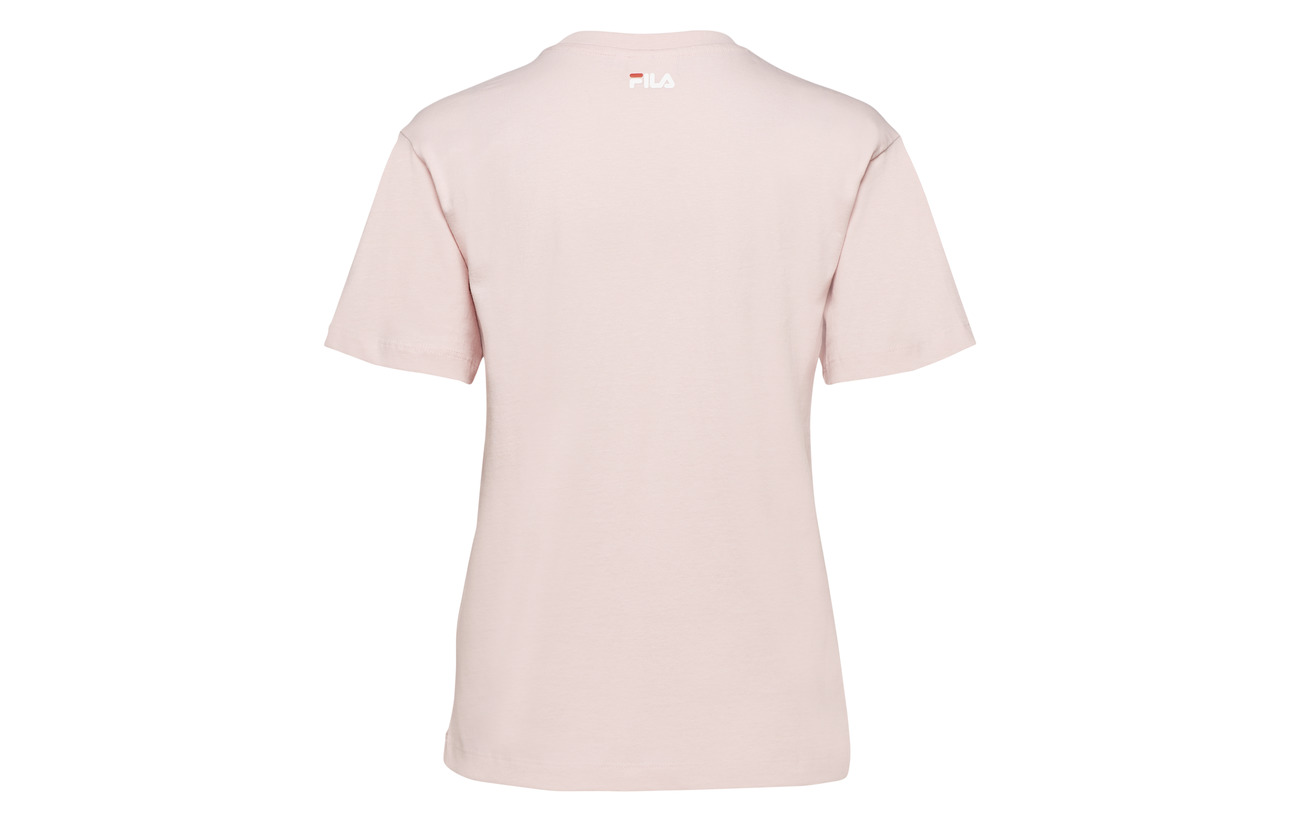 Nova Coton Coral 100 Tee Ss Women Cropped Blush Fila vq75P