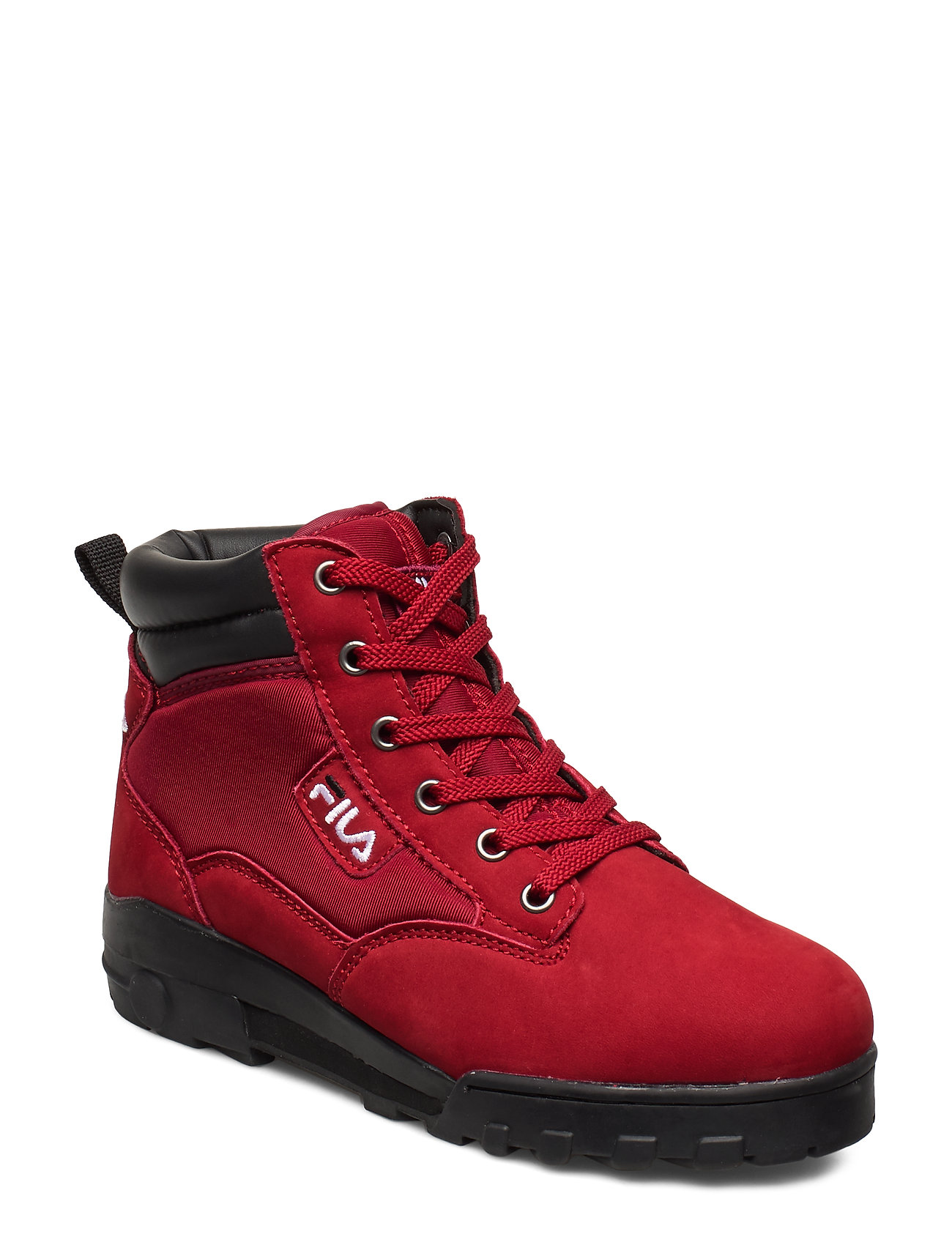 FILA Grunge Ii Mid Wmn Shoes Boots Ankle Boots Ankle Boots Flat Heel Rot FILA