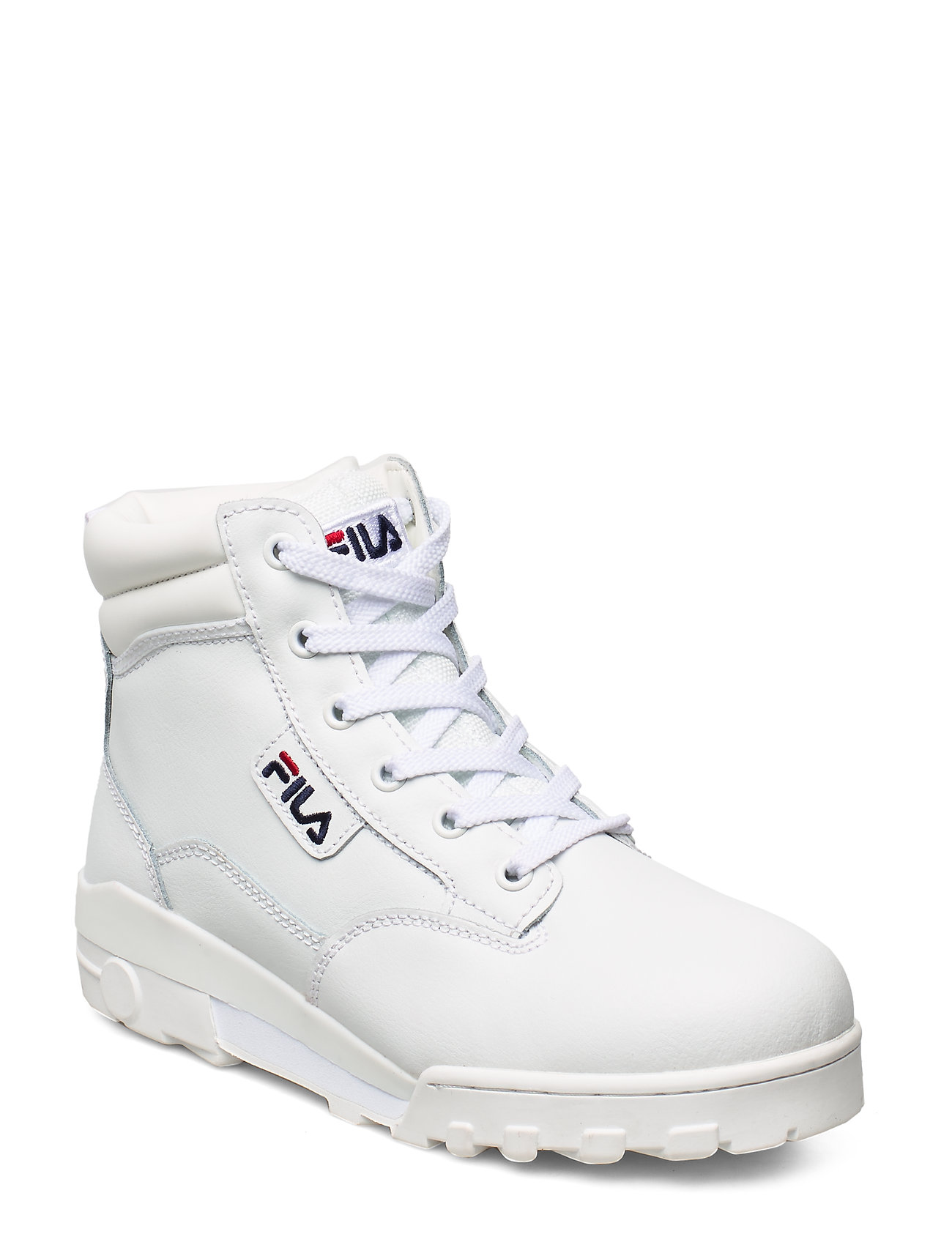 FILA Grunge Ii L Mid Wmn Shoes Boots Ankle Boots Ankle Boots Flat Heel Weiß FILA