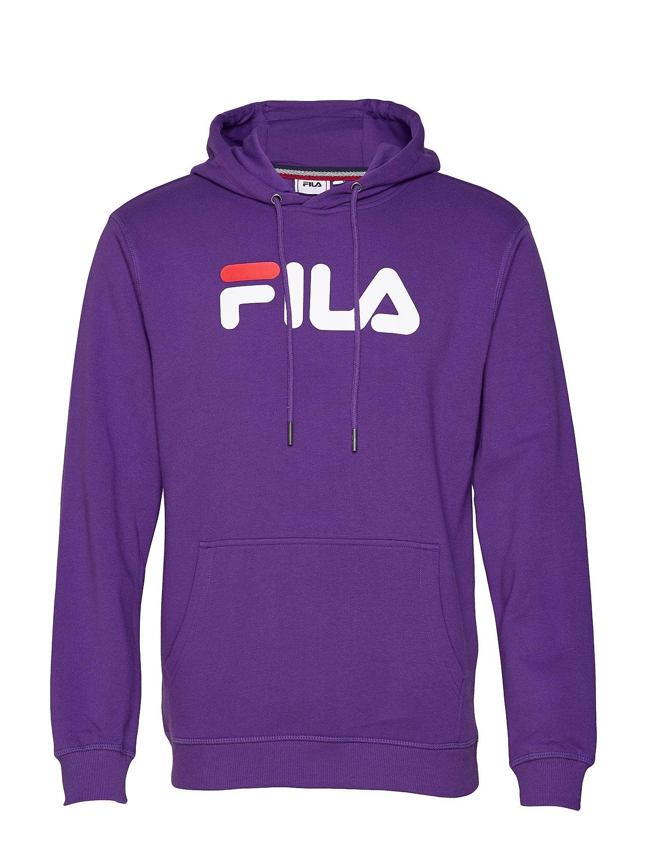 FILA UNISEX CLASSIC PURE hoody - TILLANDSIA PURPLE