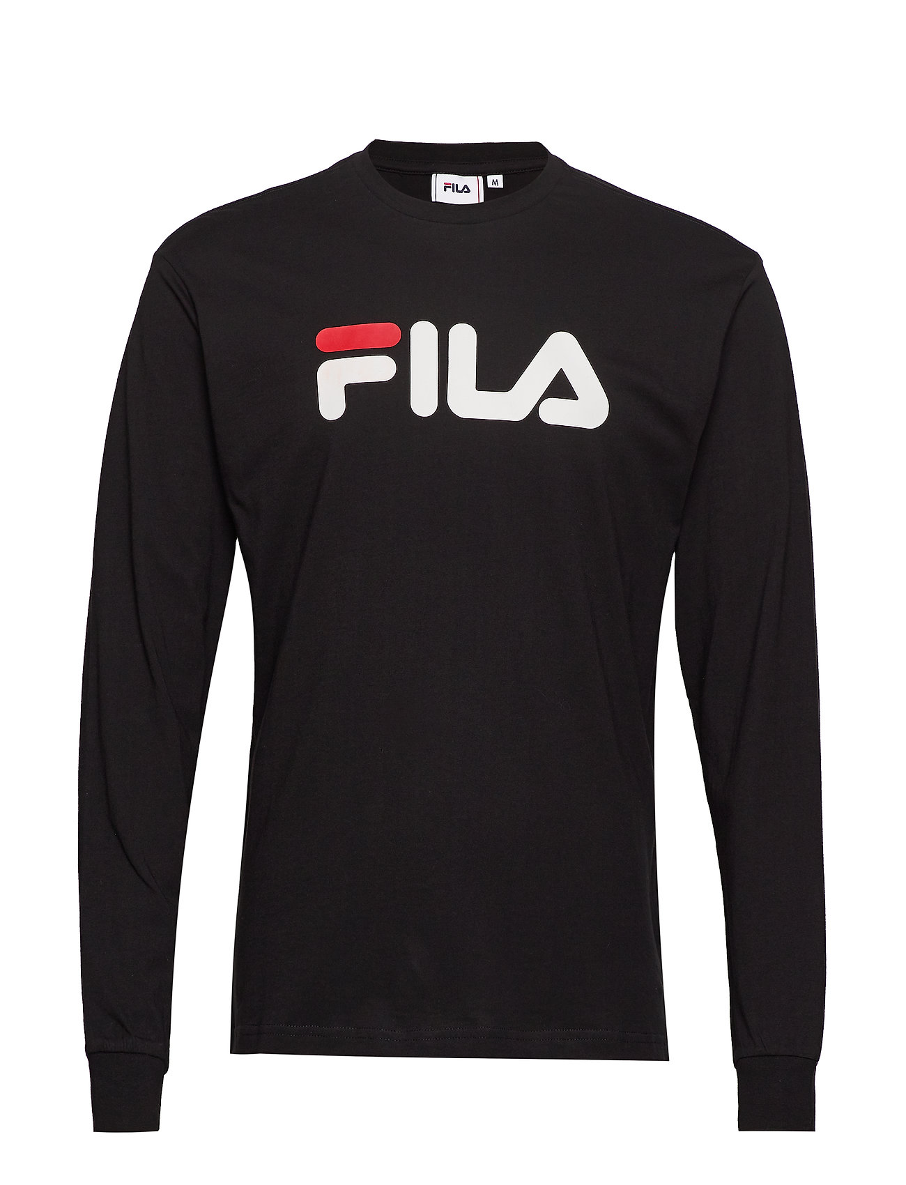 FILA Unisex Classic Pure Long Sleeve Shirt T-Langärmliges Hemd Schwarz FILA