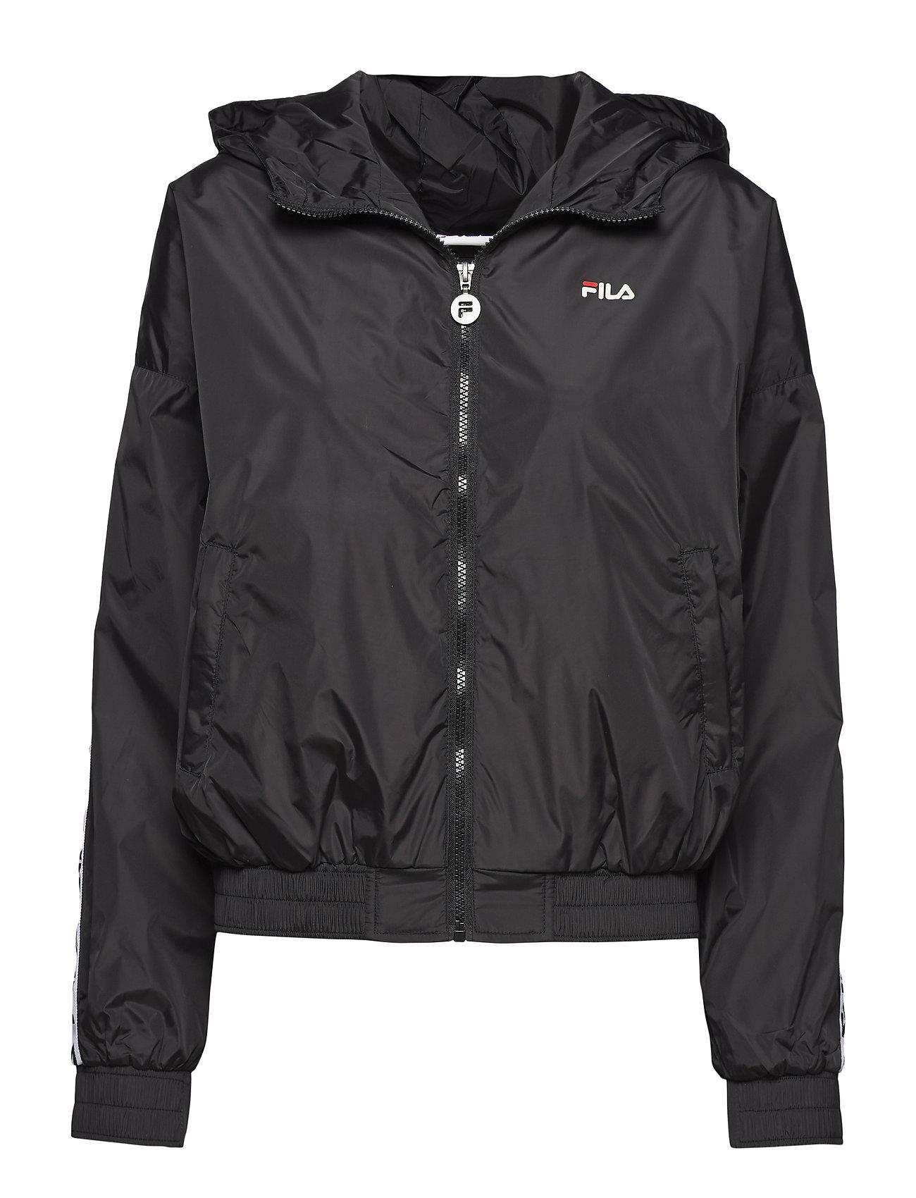 FILA WOMEN TILDA hooded wind jacket - BLACK