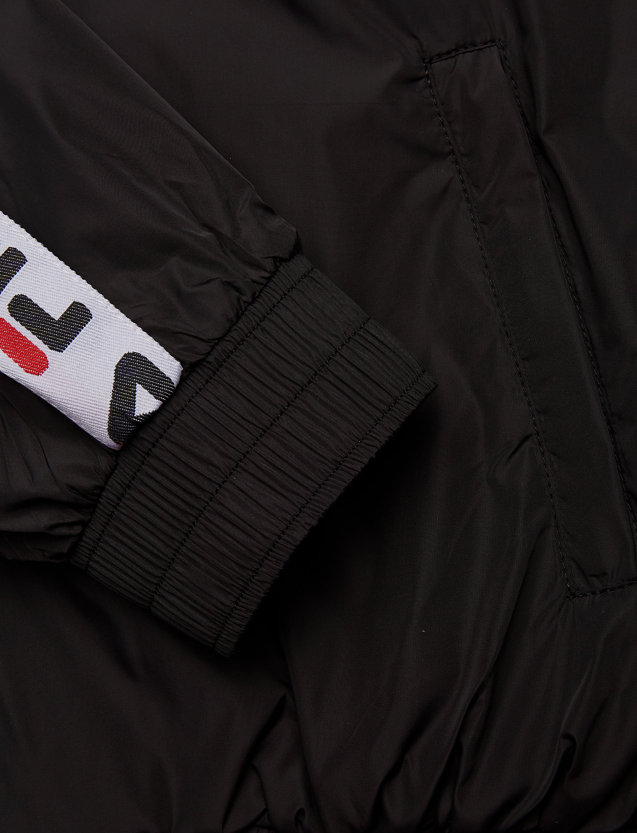 FILA    WOMEN TILDA hooded wind jacket  - Jacken & Mäntel    BLACK