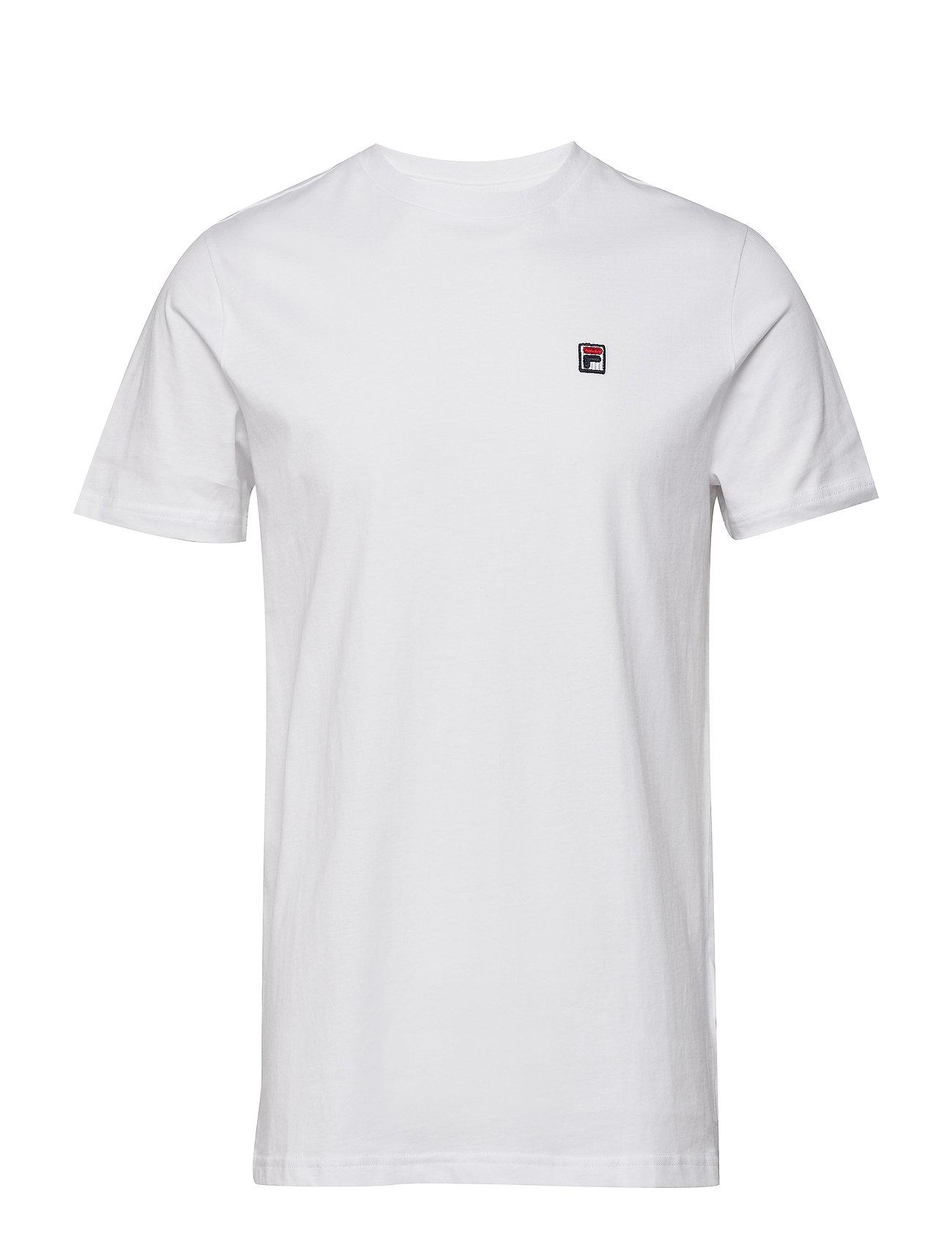 Image of Men Seamus Tee Ss T-shirt Hvid FILA (3444842585)