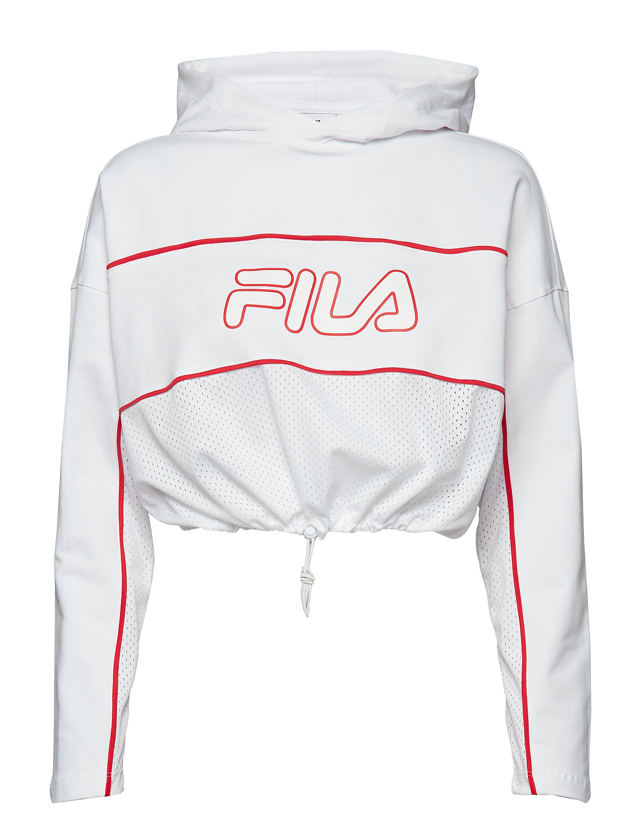 FILA ROMY HOODED TOP - BRIGHT WHITE