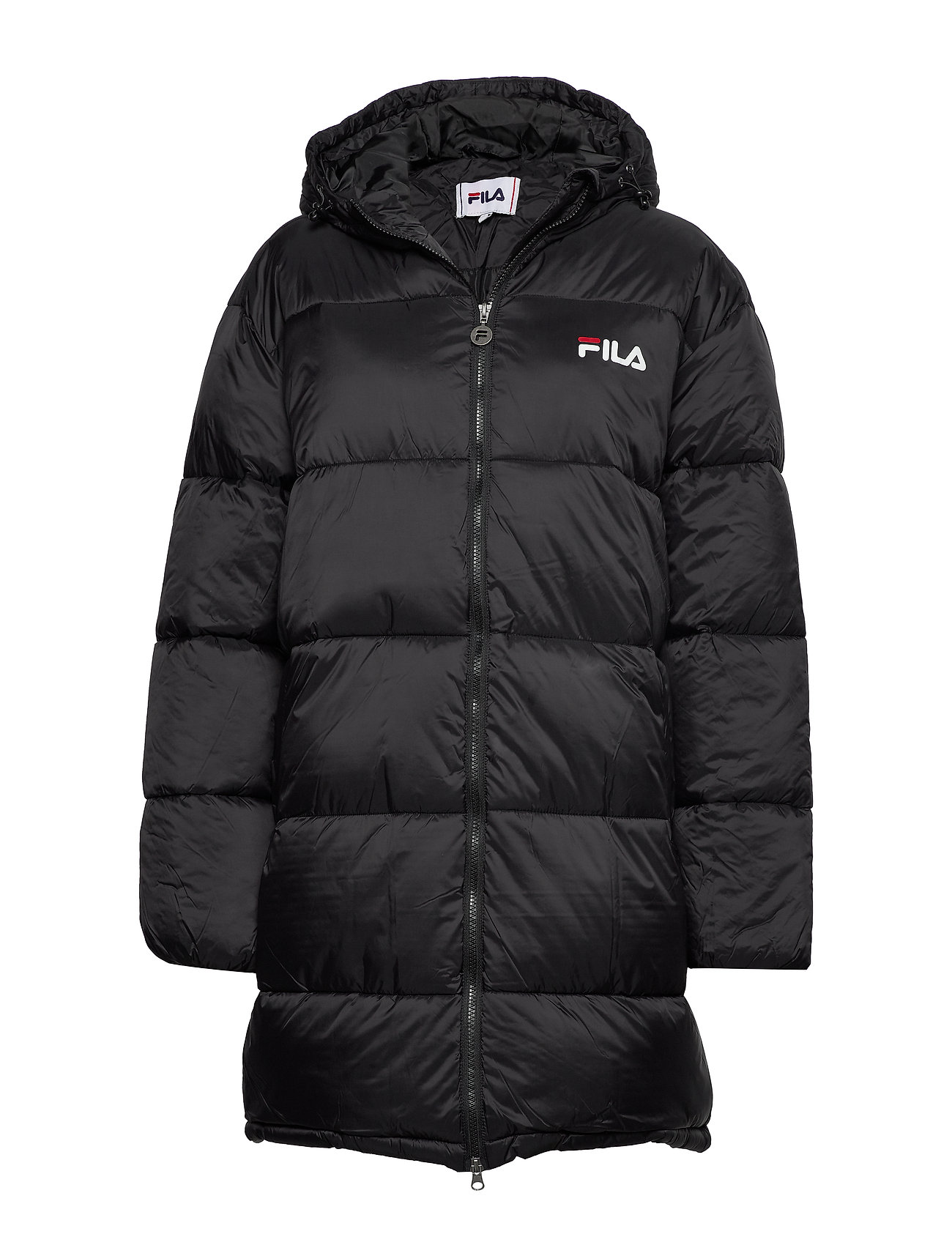 Image of Women Bronwen Puff Hood Jacket Foret Jakke Sort FILA (3457714783)