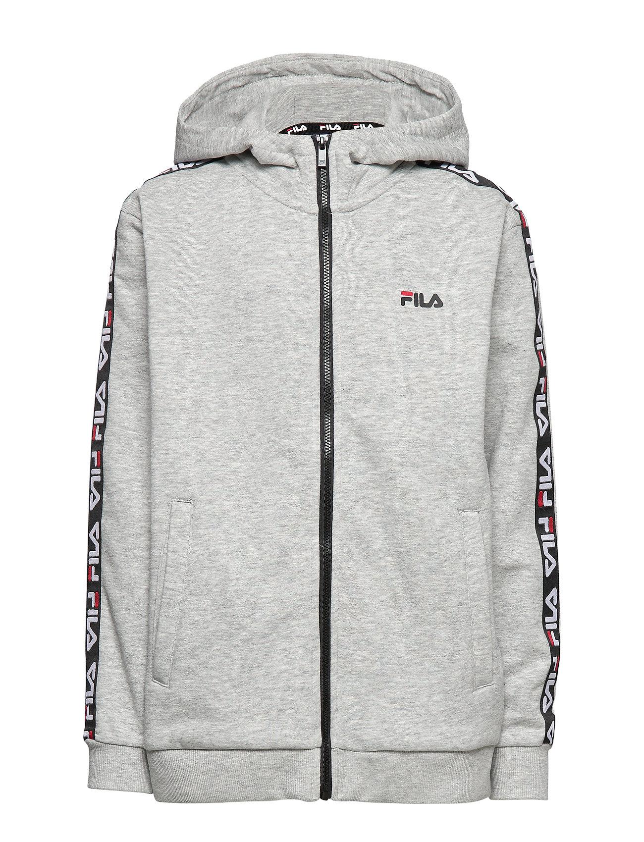 FILA KIDS ADARA zip jacket - IGHT GREY MELANGE BROS
