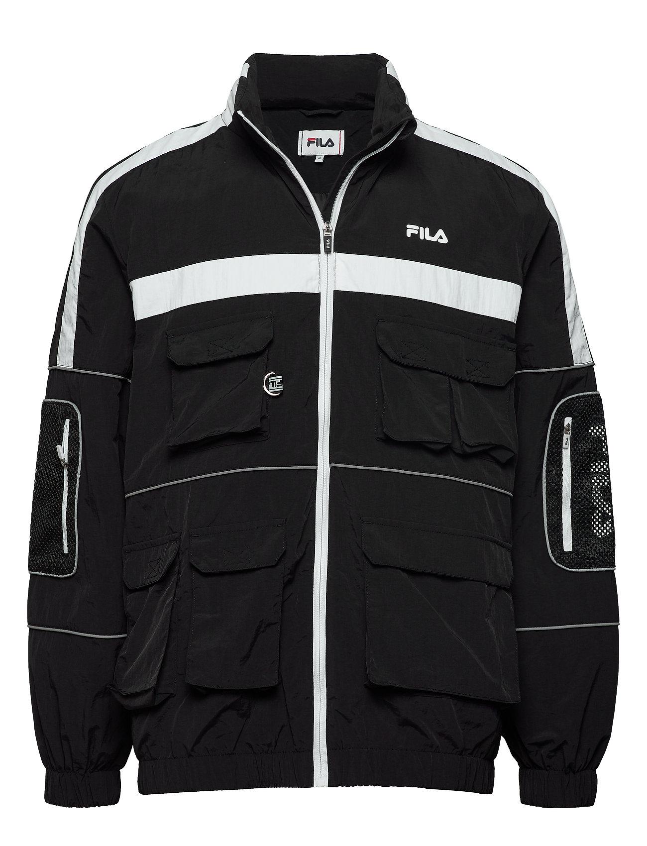 Image of Men Uba Wind Jacket Tynd Jakke Sort FILA (3362841565)