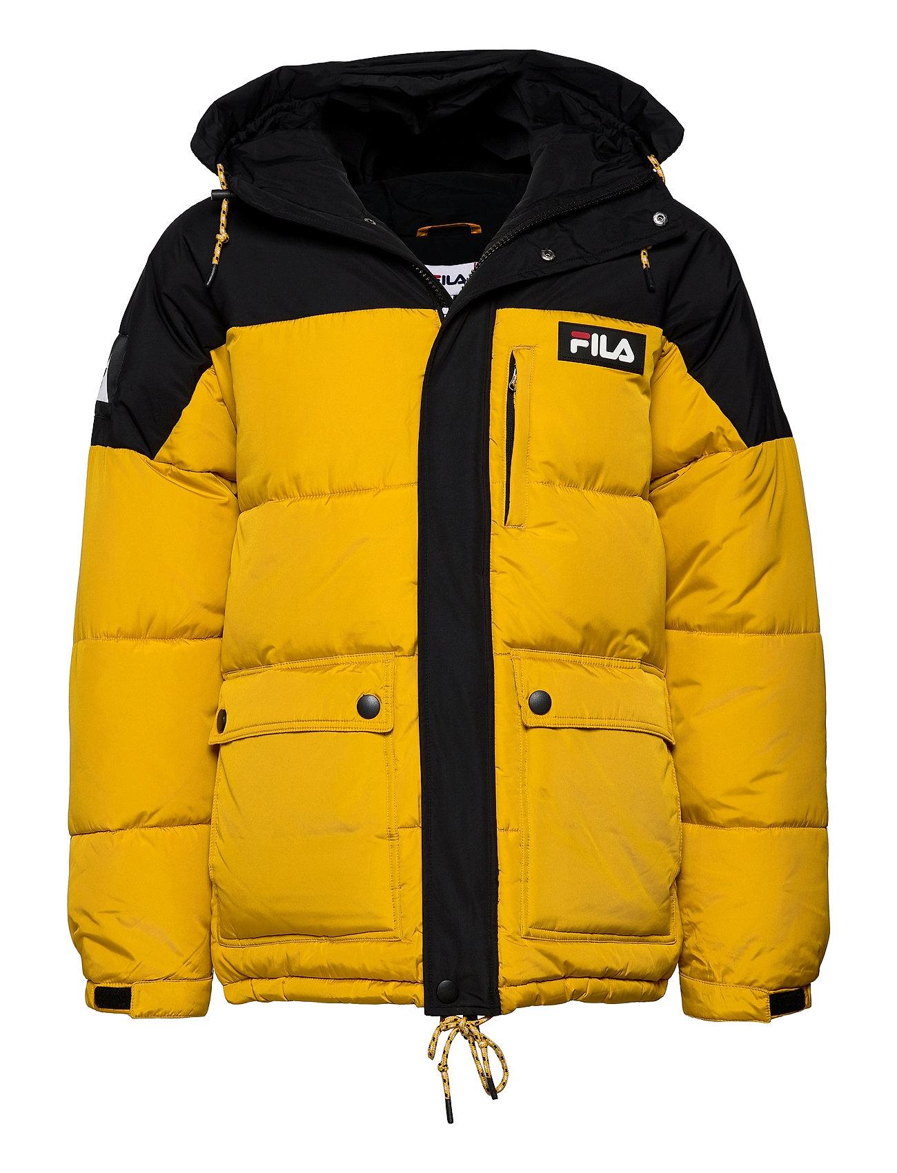 Image of Men Escurci Puffed Jacket Foret Jakke Gul FILA (3461044425)