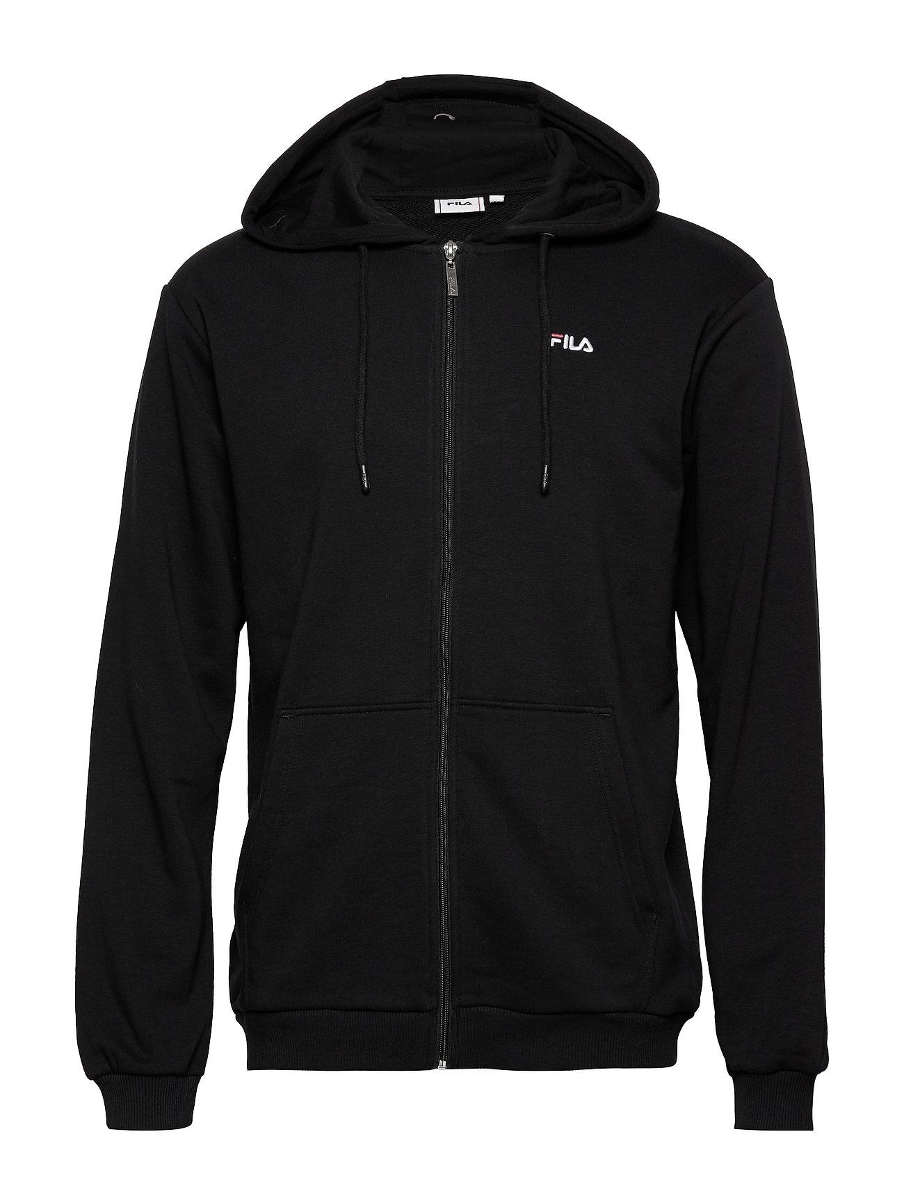 FILA MEN ELAZER sweat jacket - BLACK