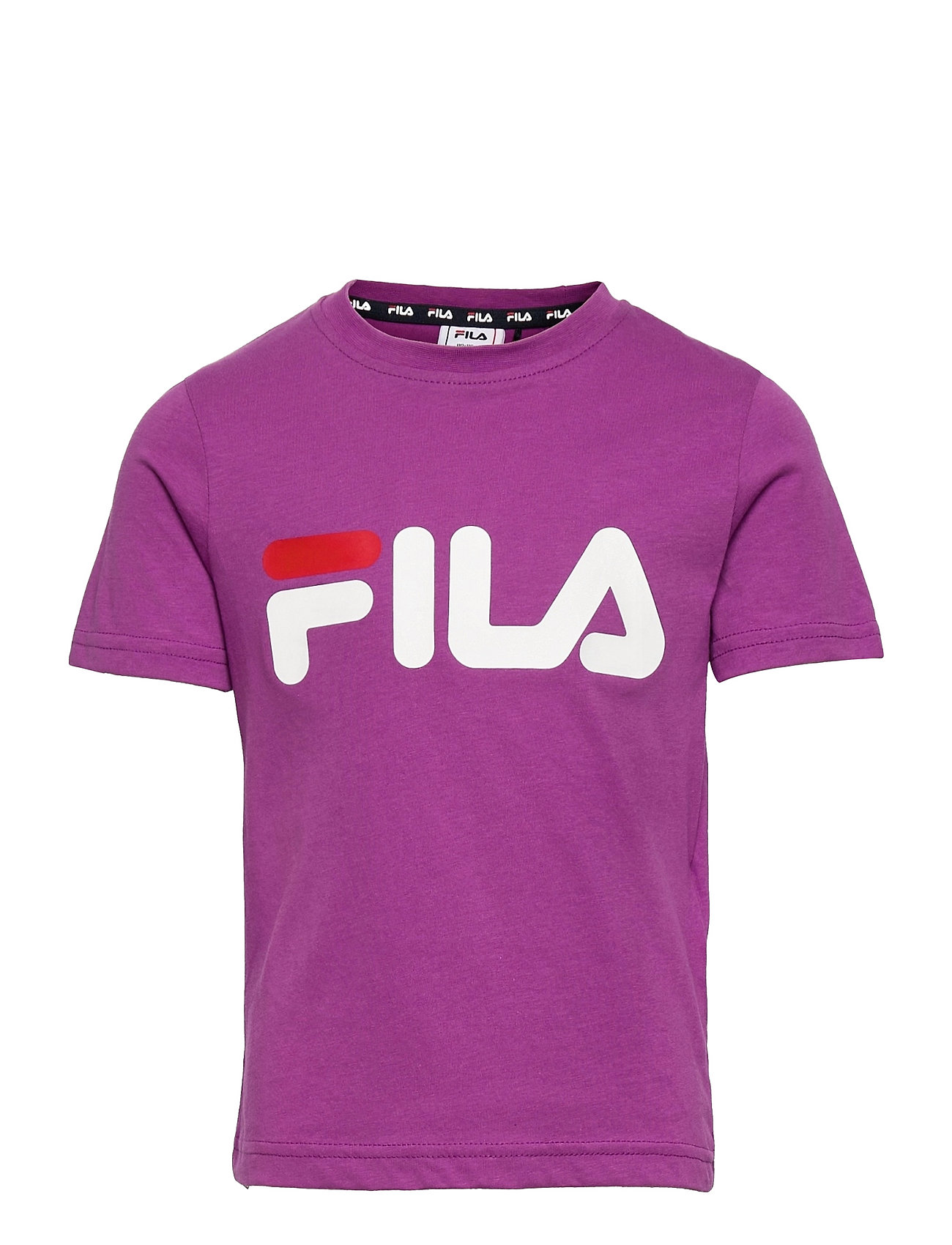 Lea Logo Tee T-shirt Lilla FILA