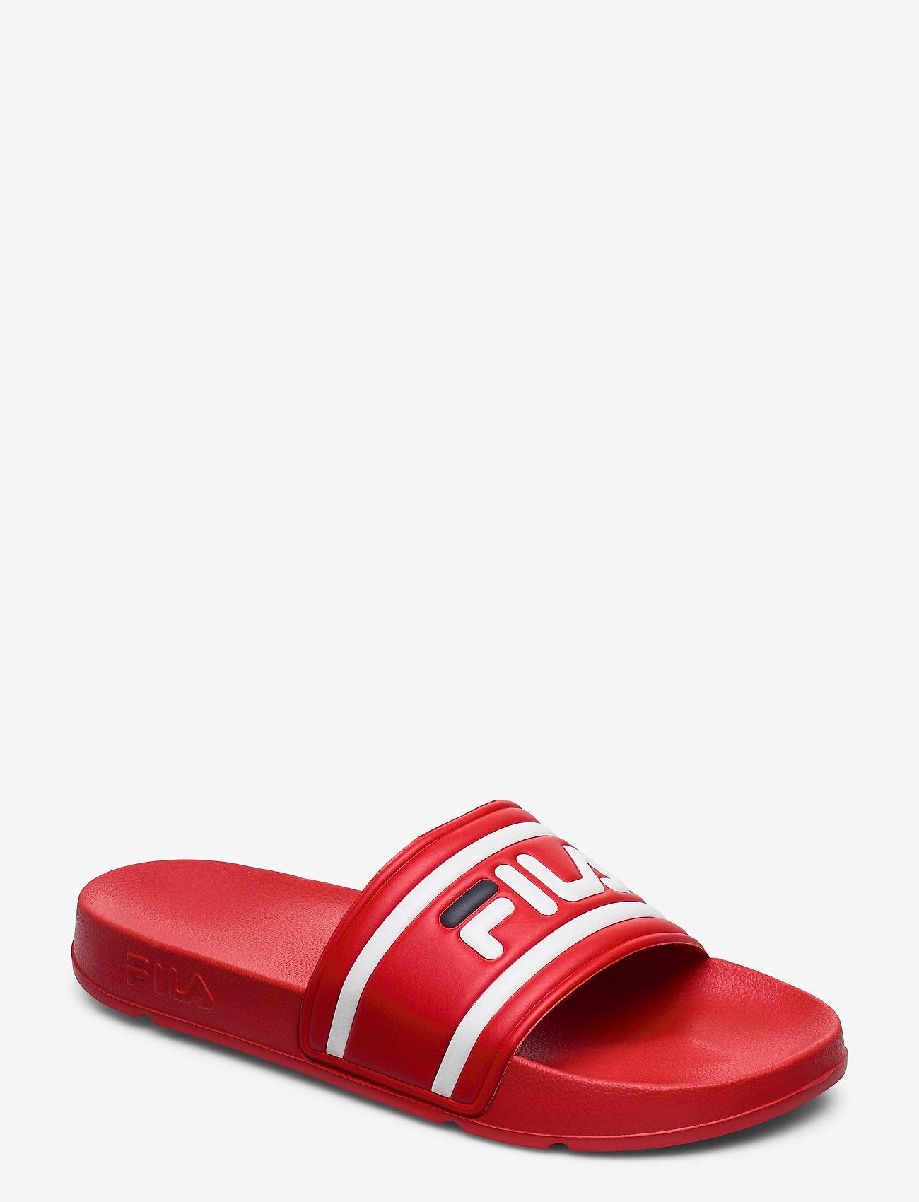 FILA - Morro Bay slipper 2.0 - pool sliders - fila red