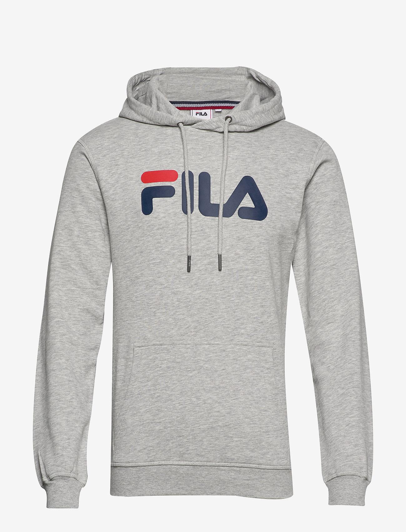 FILA - CLASSIC PURE hoody - pulls a capuche - light grey melange bros - 0
