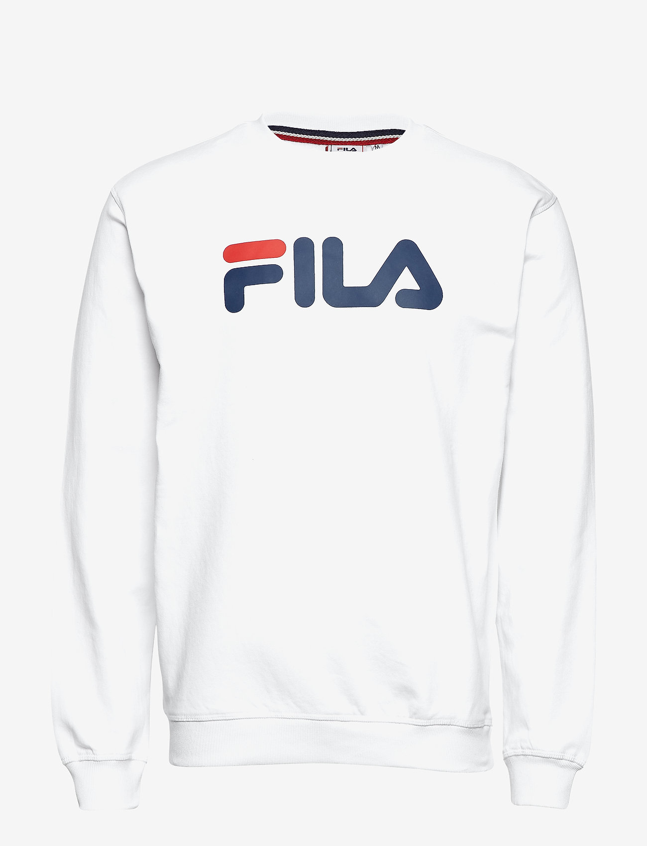 FILA - CLASSIC PURE crew sweat - sweats - bright white - 0
