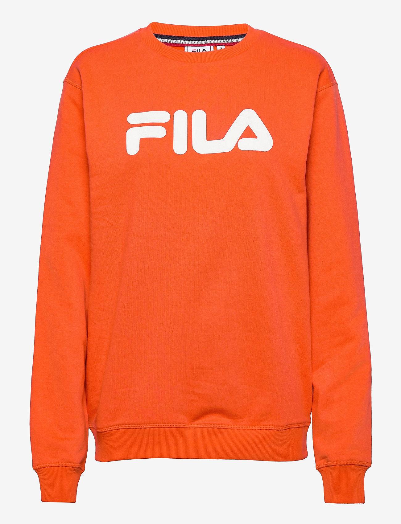FILA - CLASSIC PURE crew sweat - sweats - tigerlily - 0