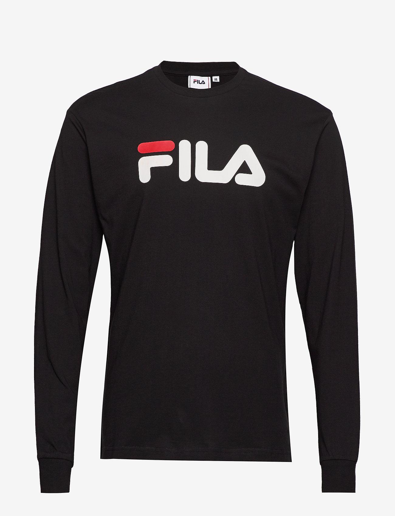 FILA - UNISEX CLASSIC PURE long sleeve shirt - hauts à manches longues - black - 0