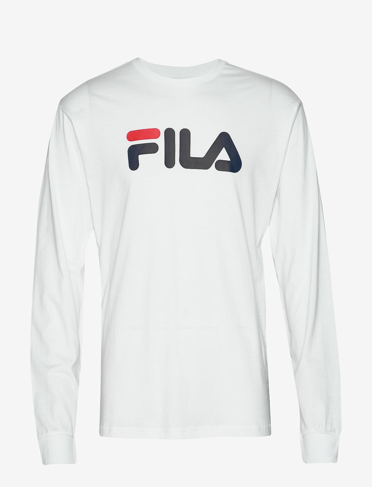 FILA - UNISEX CLASSIC PURE long sleeve shirt - hauts à manches longues - bright white - 0