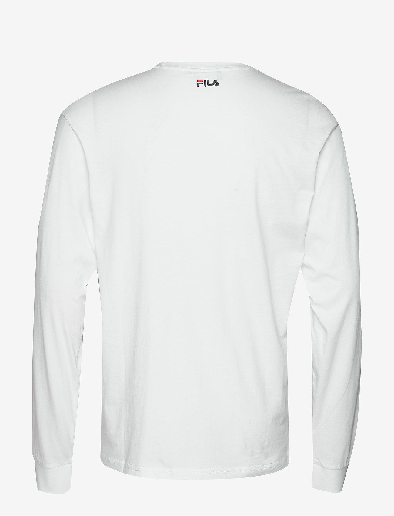 FILA - UNISEX CLASSIC PURE long sleeve shirt - hauts à manches longues - bright white - 1