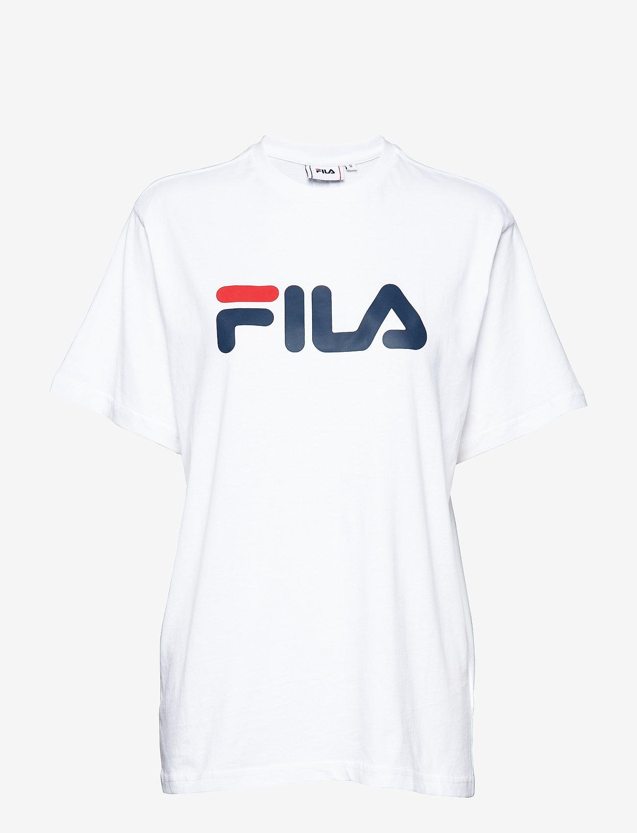 FILA - UNISEX CLASSIC PURE ss tee - t-shirts - bright white - 0