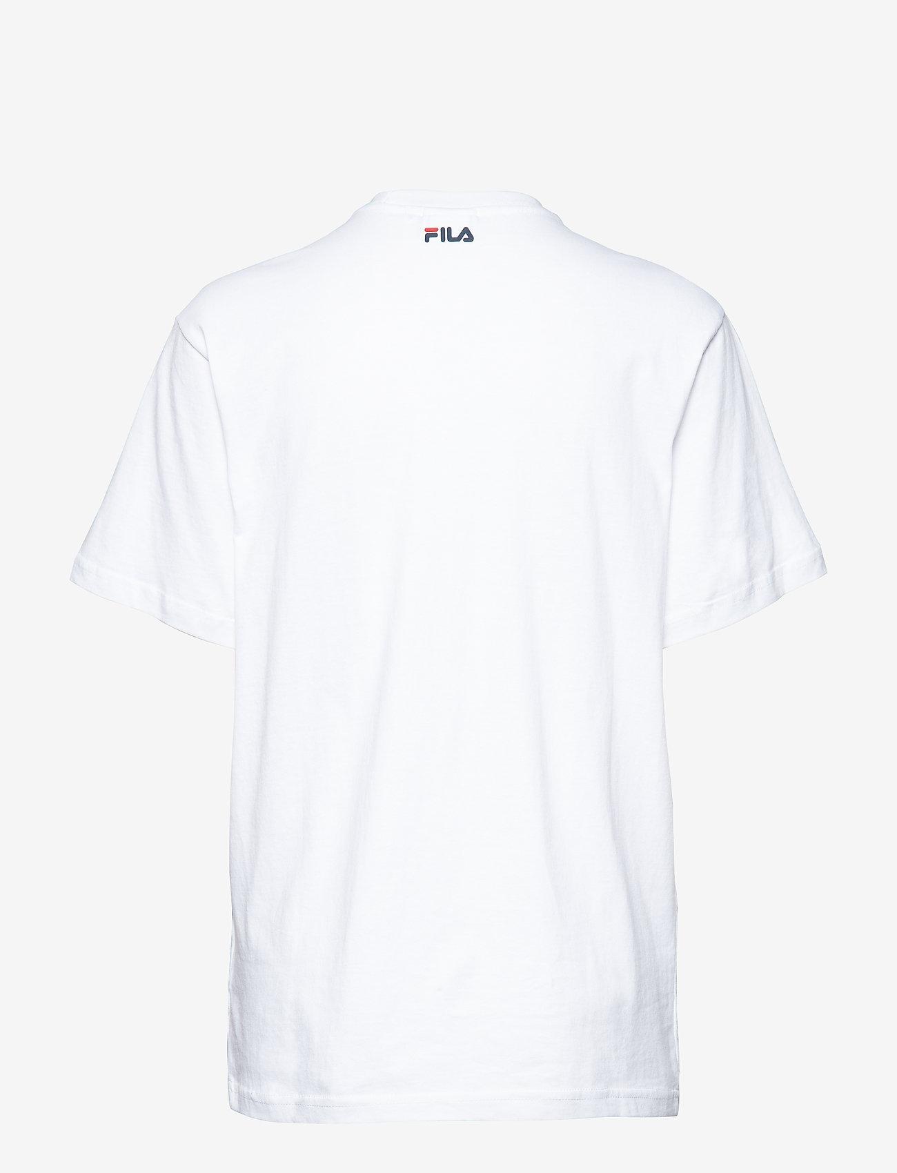 FILA - UNISEX CLASSIC PURE ss tee - t-shirts - bright white - 1
