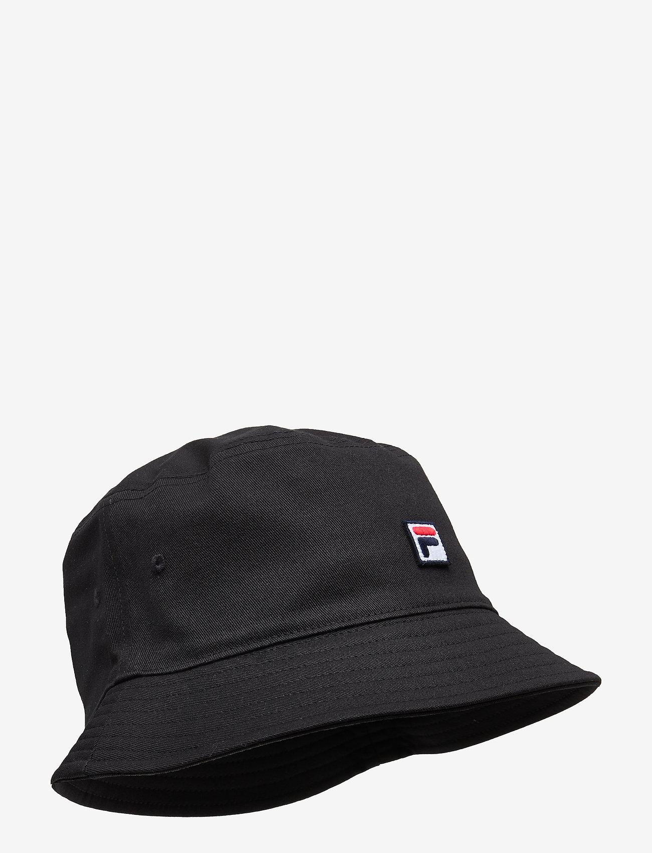 FILA - BUCKET HAT with F-box - bucket hats - black - 0