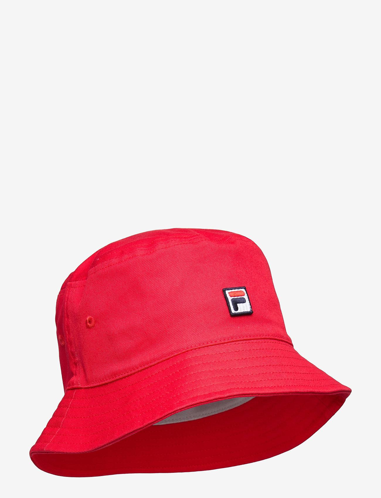FILA - BUCKET HAT with F-box - bucket hats - true red - 0