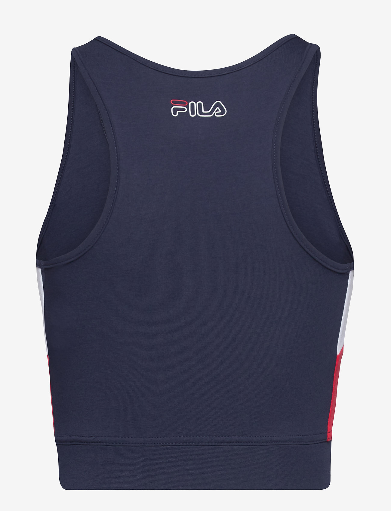 FILA - WOMEN JADEA cropped top - crop tops - black iris-true red-bright white - 1